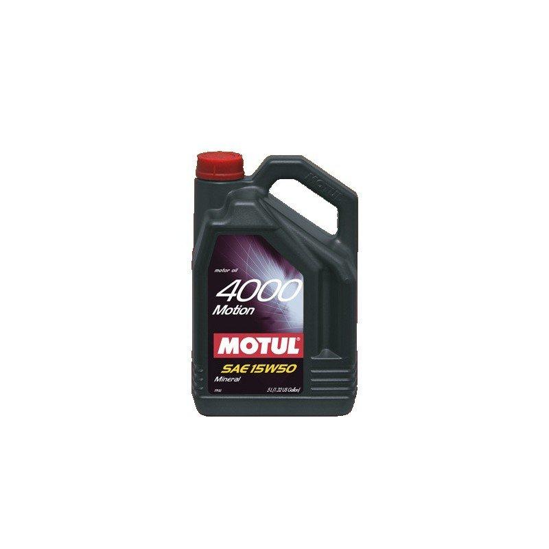 Aceite MOTUL 4000 Motion 15W50 5 litros
