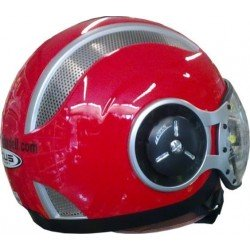 Casco ZEUS HZ218 Rojo