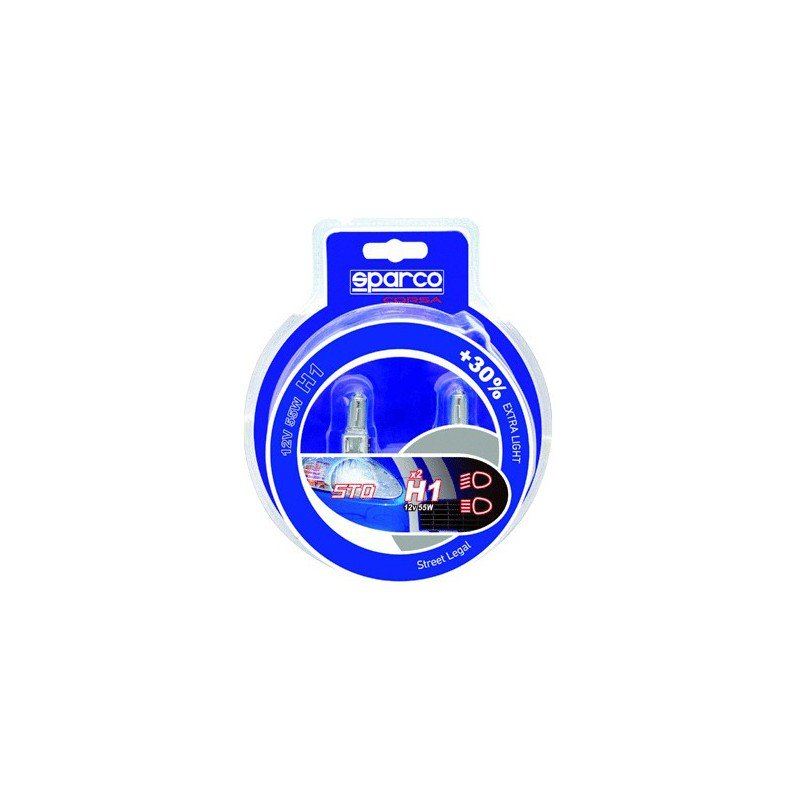Bombillas SPARCO H1 +30% Extra Light 12V 55W
