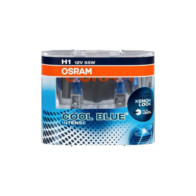 Bombillas hálogenas H1 OSRAM Cool Blue Intense