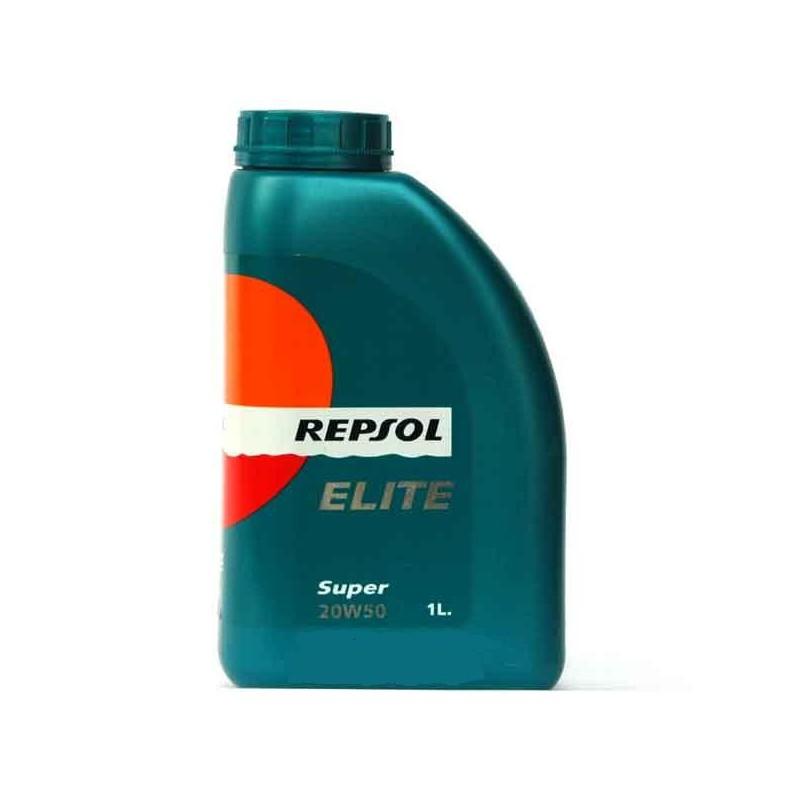Aceite REPSOL Elite Super 20W50 1 litro