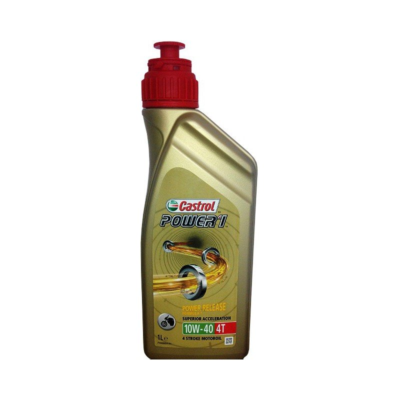 Aceite CASTROL Power1 4t 10w40 1 ltr