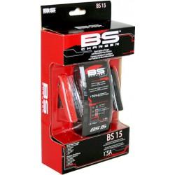 Cargador batería inteligente y automático BS CHARGER BS15 12V 1,5A