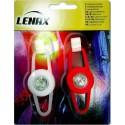 Luces led delantera y trasera para bicicleta LENAX