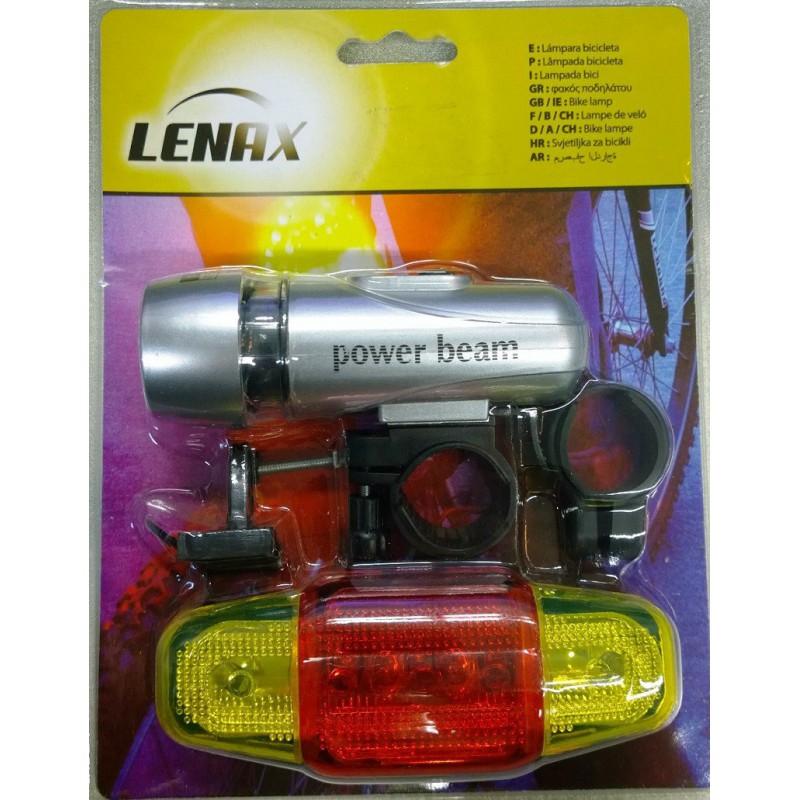 Juego de luces bici LEIVA