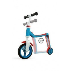 Correpasillos y patinete 2 en 1 SCOOT & RIDE