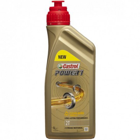 Aceite CASTROL Power1 Clean BURN 2T 1 litro