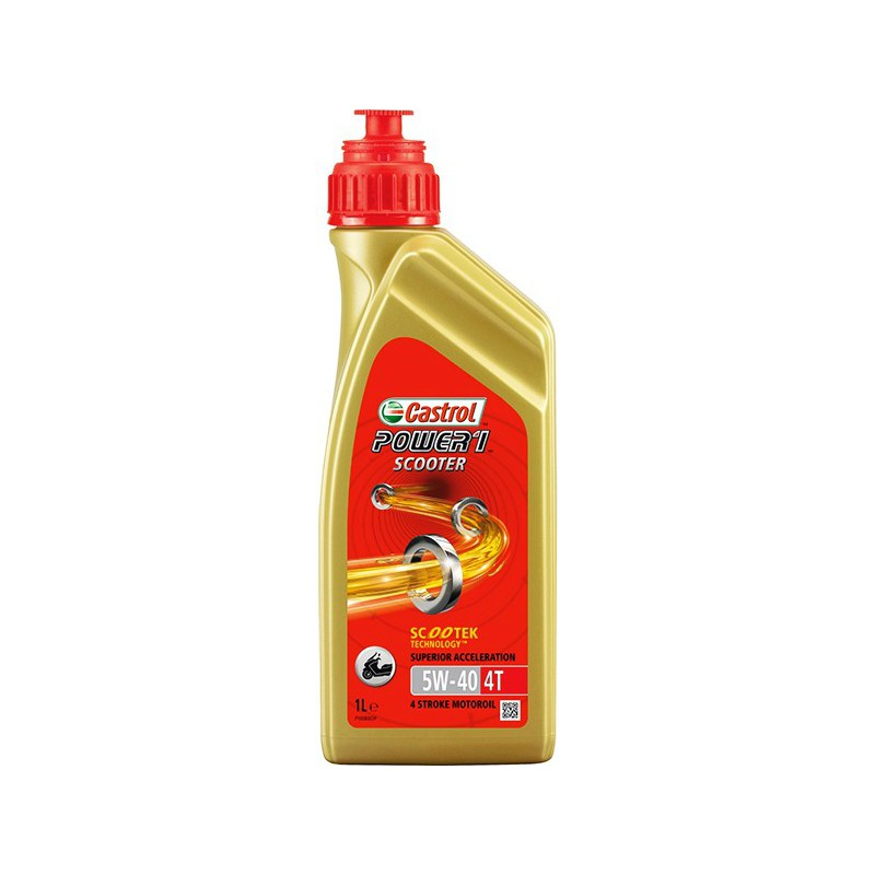 Aceite CASTROL Power1 Scooter 4T 5W40 1ltr