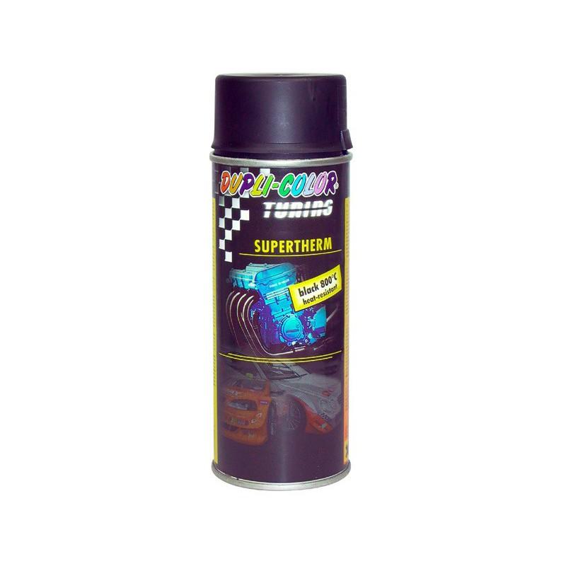 Spray pintura DUPLI-COLOR Térmica 800ºC Negro Mate