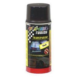 Spray pintura DUPLI-COLOR Negro trasparente