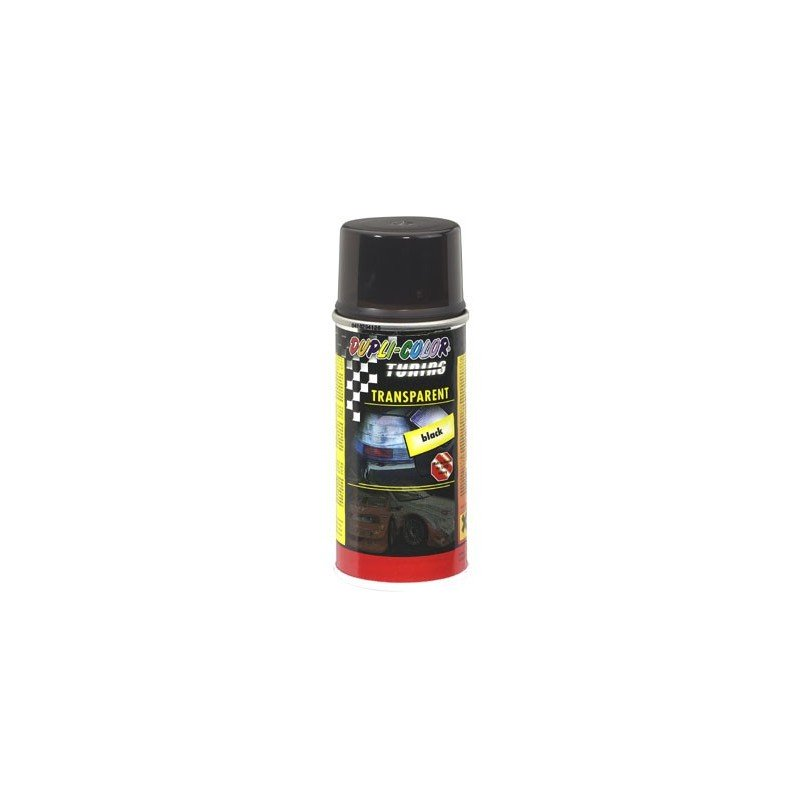 Spray pintura DUPLI-COLOR Negro trasparente