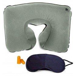 Almohada de viaje inchable