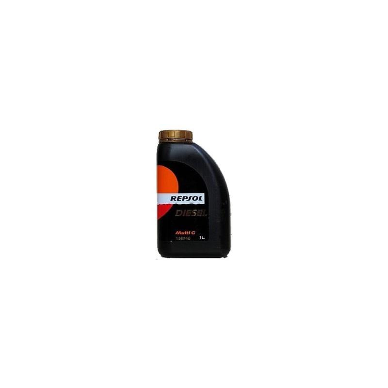Aceite REPSOL Multi G DIESEL 15W40 1 litros
