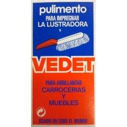 Pulimento VEDET, líquido para el cepillo