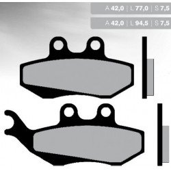 Pastillas de freno BRENTA FT3017
