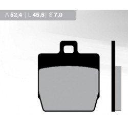 Pastillas de freno BRENTA FT3016