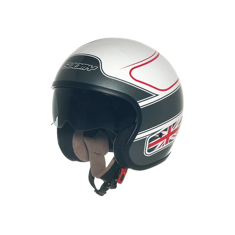 Casco jet SUOMY 70's UK FLAG