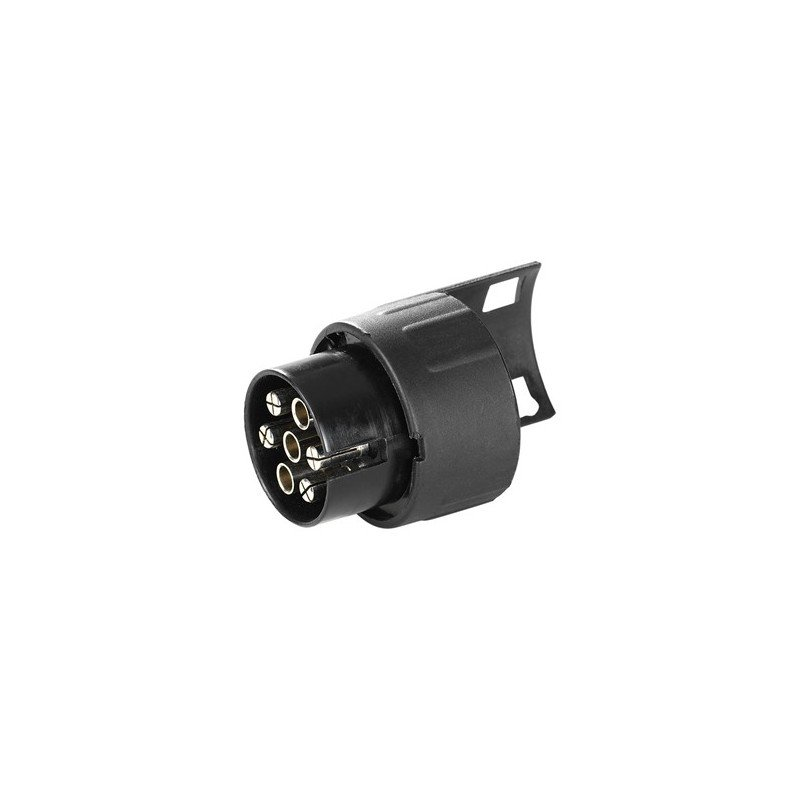 Adaptador conector enchufe remolque de 7 a 13 polos 12V