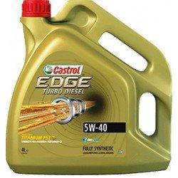 Aceite CASTROL Edge Turbo Diesel 5W40 4 litros