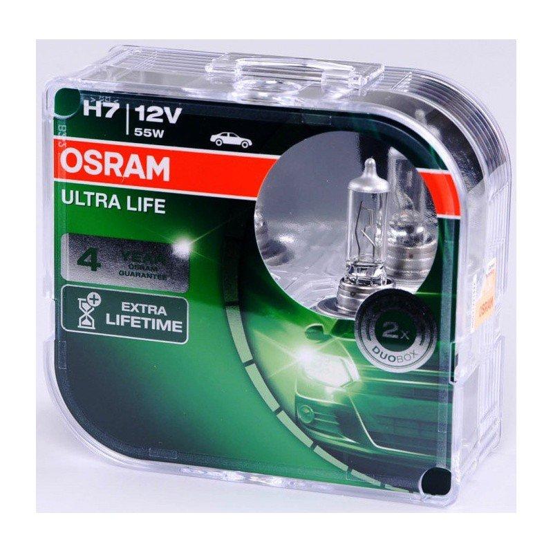 Bombillas hálogenas H7 OSRAM ULTRA LIFE