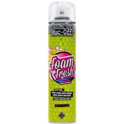 Limpiador de interiores antibacteriano MUC-OFF Foam Fresh 400ml.