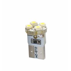 Bombillas cuña T10 4 leds M-TECH