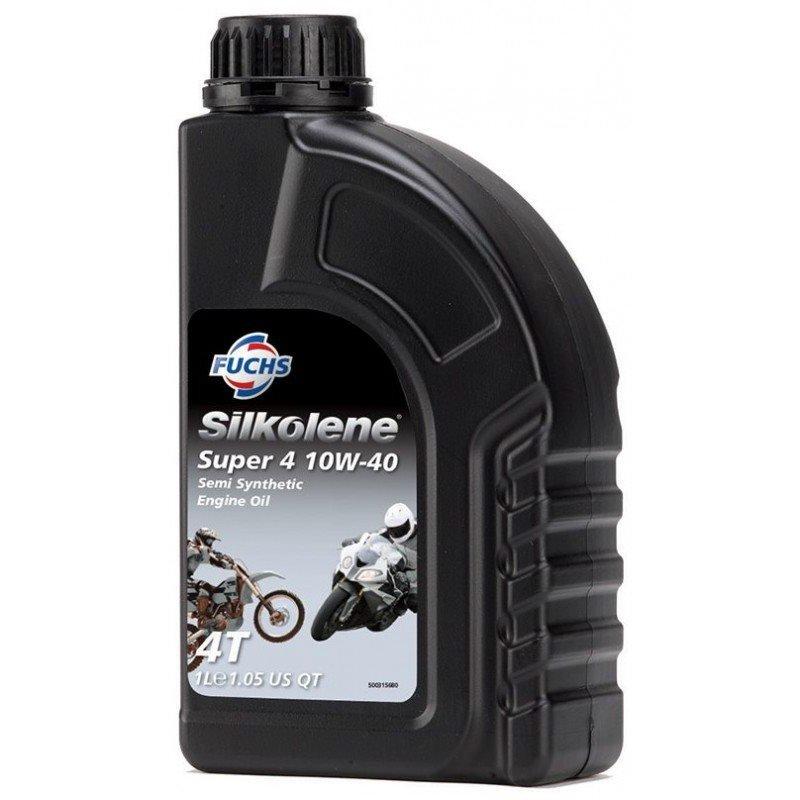 Aceite motor SILKOLENE Super 4 10W40 1 litro