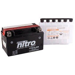 Batería YTX7A-BS 12V 6Ah NITRO