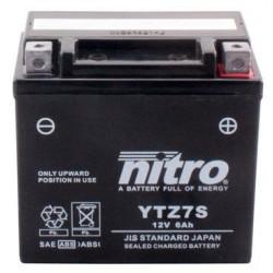 Batería YTZ7S 12V 6Ah NITRO