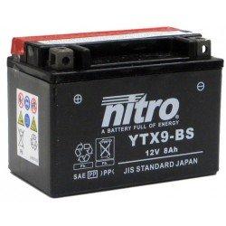 Batería YTX9-BS 12V 8Ah NITRO