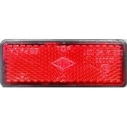 Reflectante rectangular rojo homologado