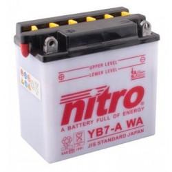 Batería YB7-A 12V 8Ah NITRO