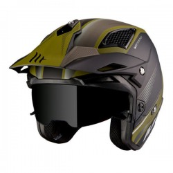 Casco jet MT District SV Verde Mate