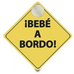 Cartel aviso ¡BEBÉ A BORDO!...